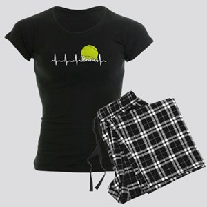 Tennis Heartbeat T Shirt Pajamas